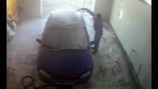 """Уроки """"профессионального"""" вождения Ибадуллаева Эрвина на автомойке."""