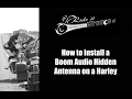 How to Install A Boom Audio Hidden Antenna on a Harley