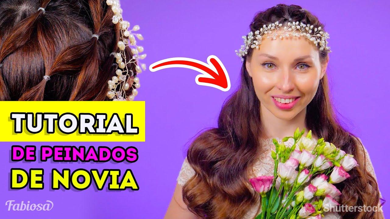 Tutorial fácil de peinados de novia   Los 3 mejores peinados