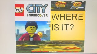 LEGO CITY UNDERCOVER LIVE NS #13 (its back)
