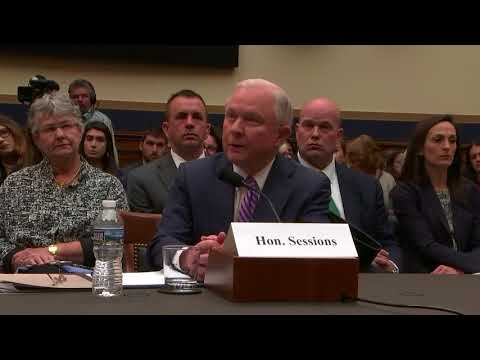 11.14.17 House Judiciary Committee Hearing with Attorney General Sessions