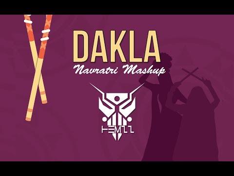 DAKLA MASHUP | NAVRATRI MASHUP | DJ HEMzZ | NEW | 2017