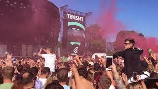Discoland Gerry Cinnamon TRNSMT festival Glasgow Green 30 June 2018 Live