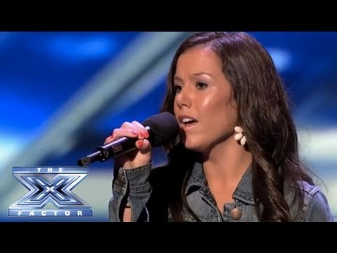 Brandie Love Sings 'Up to the Mountain' and Takes Simon to Church! - THE X FACTOR USA 2013