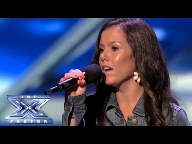 Brandie Love Sings Up to the Mountain and Takes Simon to Church! - THE X FACTOR USA 2013