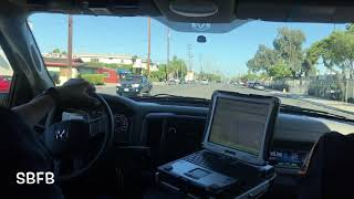 (Ride Along) LACoFD Squad 36 (w/ Fire Station Tone-Outs)