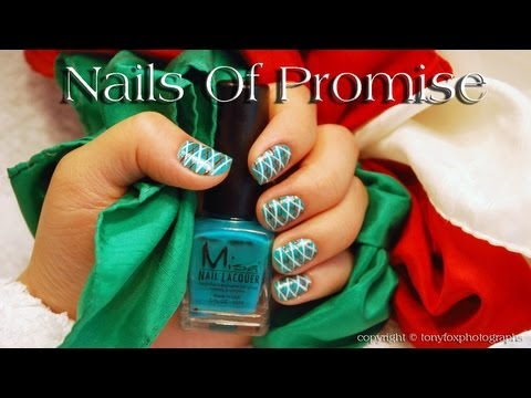 Easy Party Time Nail Design Tutorial. Nails Of Promise. thumbnail