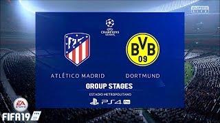 FIFA 19 | UCL | Atletico Madrid Vs. Borussia Dortmund | 2nd Match