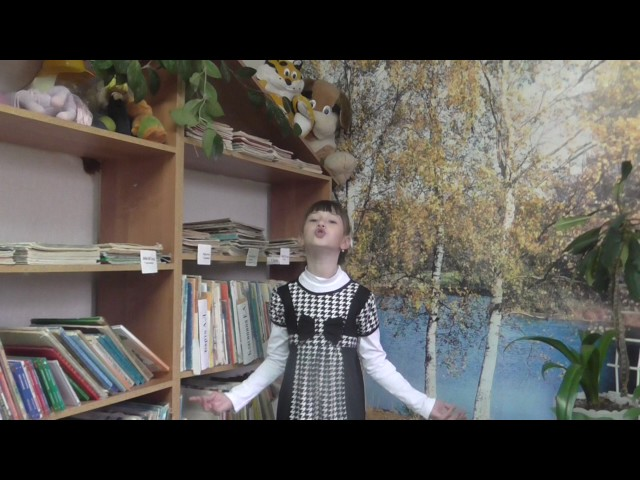 Изображение предпросмотра прочтения – МаринаСундулова читает произведение «В театре» А.Л.Барто