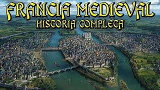 Historia de la FRANCIA MEDIEVAL - Merovingios, Carolingios, Valois, Guerra 100 años (Edad Media)
