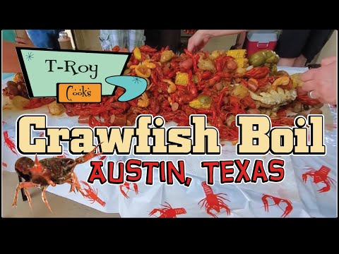 Crawfish Boil T-Roy Cooks Austin Texas How-To with BBQ Champion Harry Soo SlapYoDaddyBBQ.com
