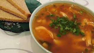 Суп с фасолью. Быстрый, Вкусный и Простой в приготовлении! /рецепты На глазок/