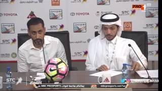 سامي الجابر : سعيد بالروح القتالية للاعبي الشباب