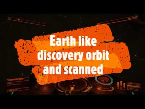 Elite Dangerous Horizons Earth like discovery orbit and scanning