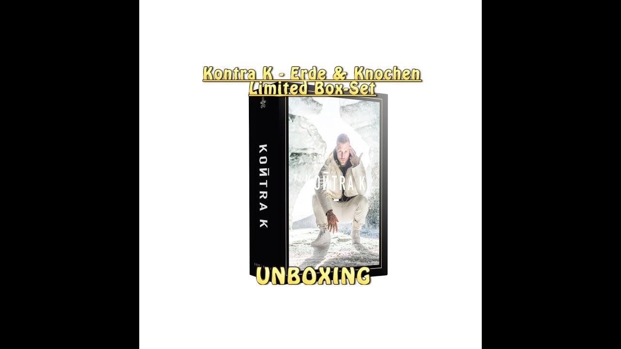 Kontra K Erde Knochen Limited Box Set Unboxing Youtube