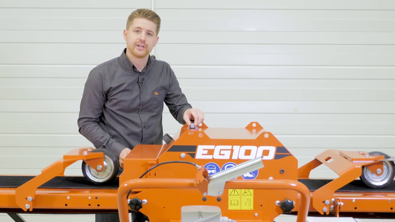 Walkthrough of the EG100 Twin Blade Edger: Wood-Mizer
