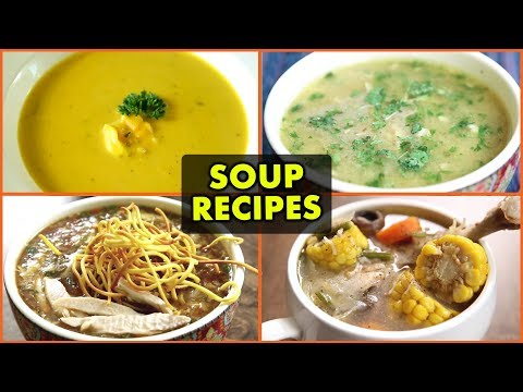 5 BEST Winter Soup Recipes – Quick & Easy Soup Recipes – Non-Vegetarian Soup Recipes