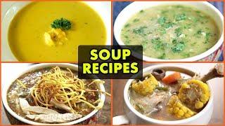 5 BEST Winter Soup Recipes - Quick & Easy Soup Recipes - Non-Vegetarian Soup Recipes