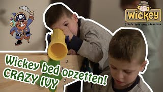 WICKEY BED OPZETTEN, CRAZY IVY !! - KOETLIFE #653