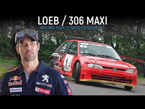 Loeb en 306 Maxi au Rallye de Haute-Provence 2017 !