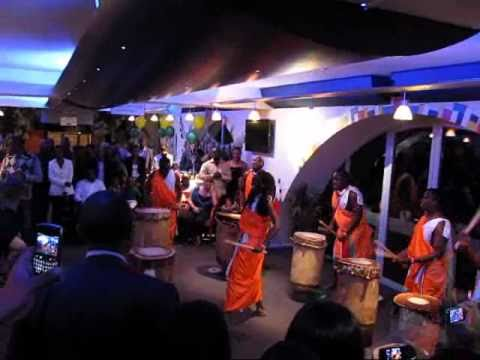 Burundian drummers pay respect to new Rwandan ambassador in the Netherlands