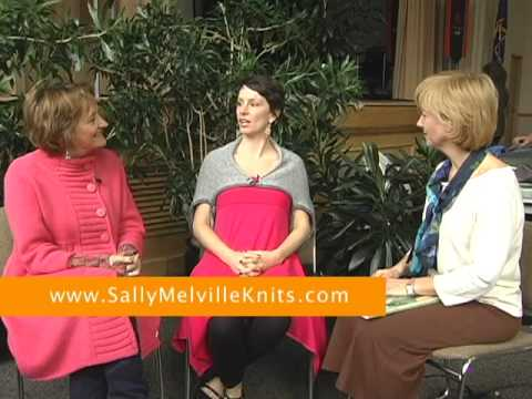 Sally Melville - MOTHER-DAUGHTER KNITS - authors writers interviews