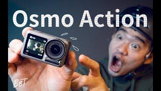 大疆Osmo Action运动相机开箱体验【BB Time第194期】