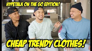 COOL ALTERNATIVES TO EXPENSIVE TRENDY CLOTHING! HYPETALK EDITION! thumbnail