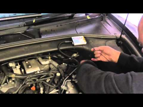 Porsche Cayenne 3 0 v6 diesel Turbotune tuning chip box fitting guide