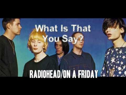 Radiohead/On A Friday-Union Street Demo - Full Album (1990)