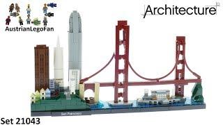 Lego Architecture 21043 San Francisco Skyline - Lego 21043 Speed Build