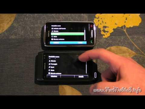 Nokia N8 VS Nokia C6-01 - camera UI