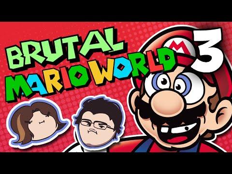 Brutal Mario World: Plowing Through - PART 3 - Grumpcade (Ft. Markiplier)