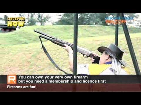 Buy a gun in Singapore (Gun-crazy Singaporeans Pt 1)