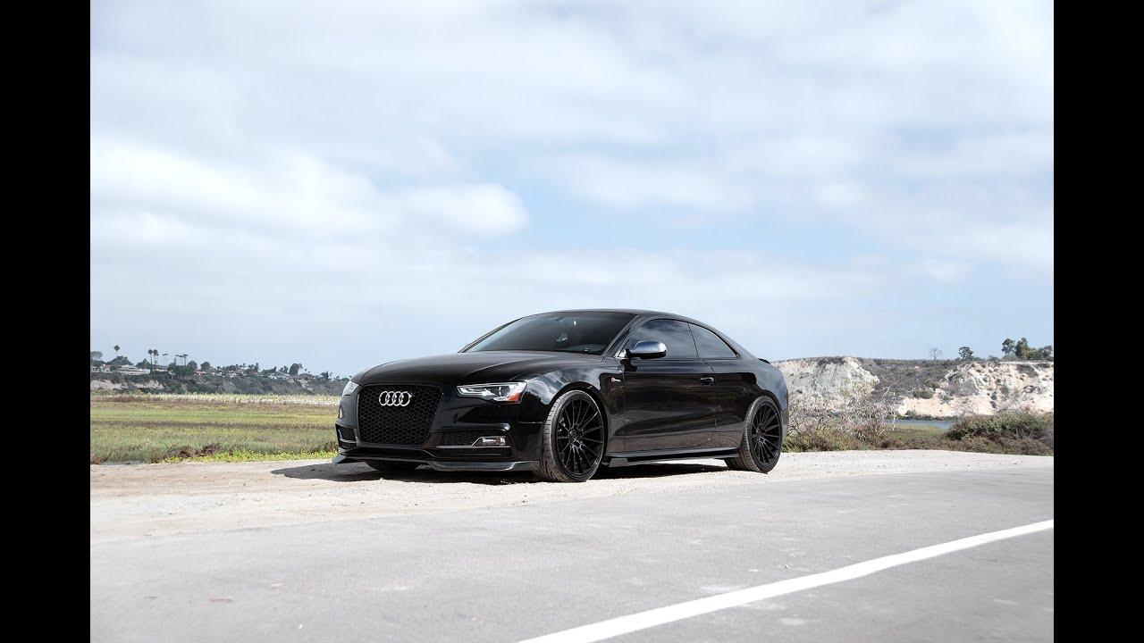Carbon Fiber Wheels >> Audi B8 S5 | ZITO ZS15 - YouTube