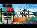 Australian Artist Magazine   Atelier Free Flow Techniques