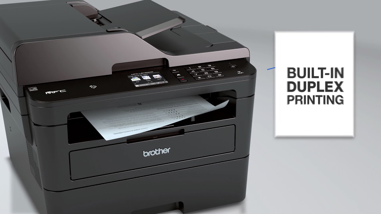Touch to connect on Brother all-in-ones MFC-L2750DW & MFC-L2750DW XL