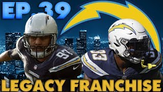 Aaron Donald Has 4 Sacks in a Game! LA Chargers Online Legacy Franchise Madden 19 Ep.39