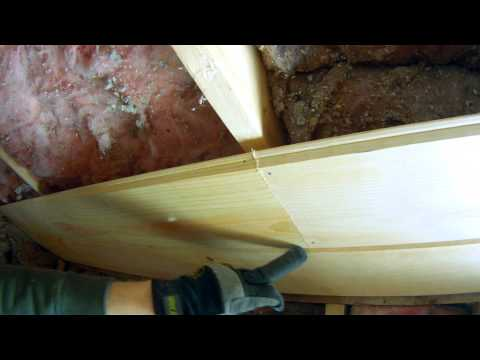 How To Install Tongue And Groove Pine On The Ceiling