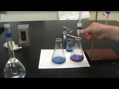Hard Water Analysis - EDTA Titration for Calcium Content