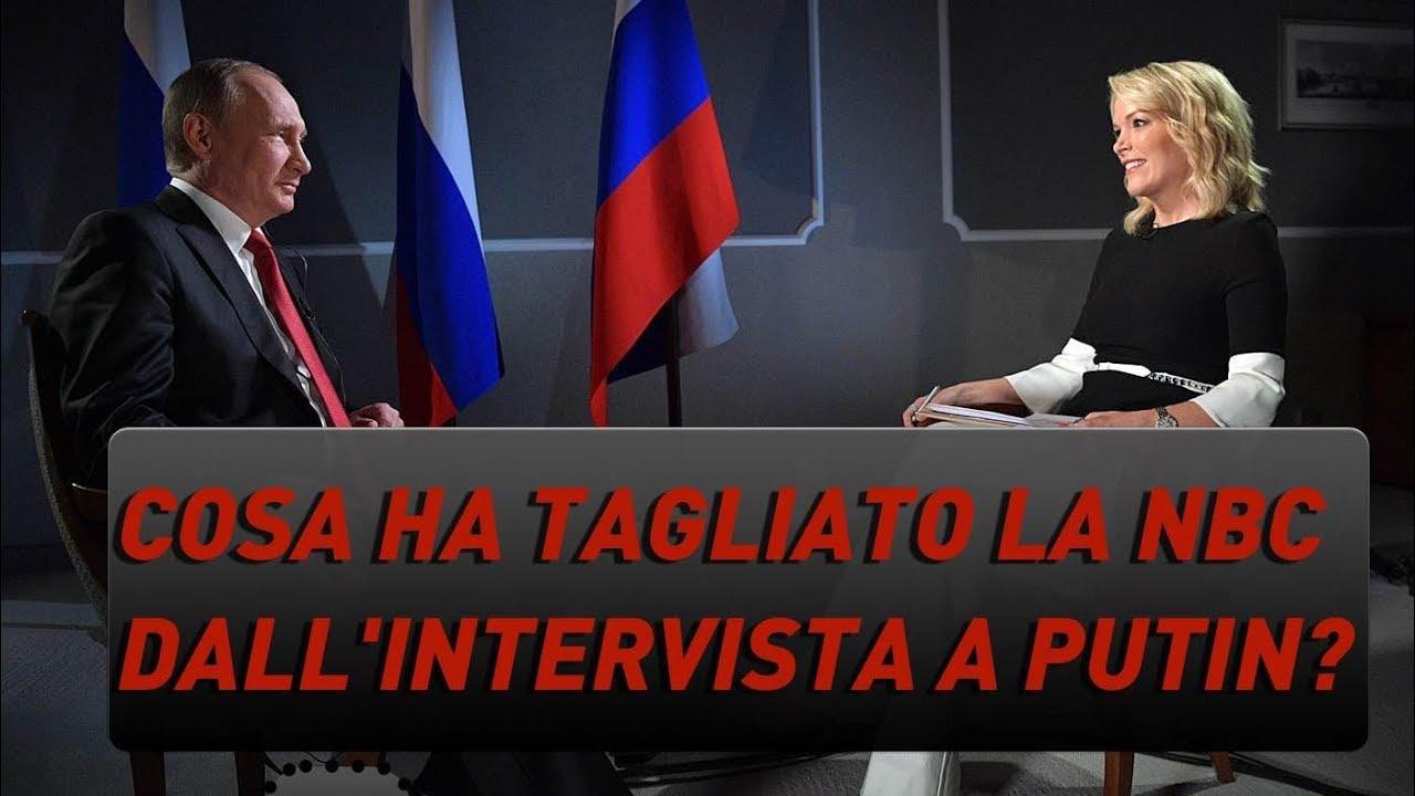 Cosa ha tagliato la NBC dall'intervista a Putin?