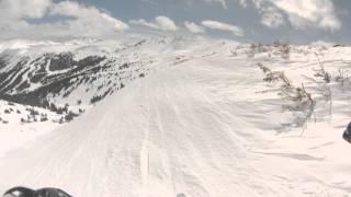 Snow Patrol Bowl and Head wall number 4 #4 loveland ski area