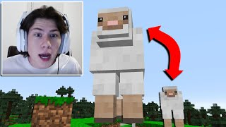 I used a GIANT ANIMALS mod in streamers house LIVE...