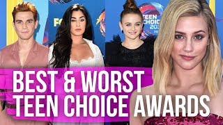 Best & Worst Dressed 2018 Teen Choice Awards (Dirty Laundry)