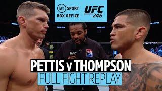 Anthony Pettis vs Stephen Thompson | Full Fight Replay | #UFC246