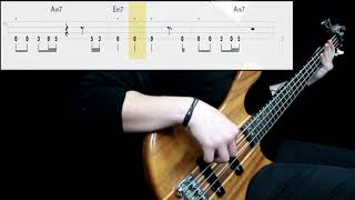 Queen - Another One Bites The Dust (Bass Cover) (Play Along Tabs In Video) mp3