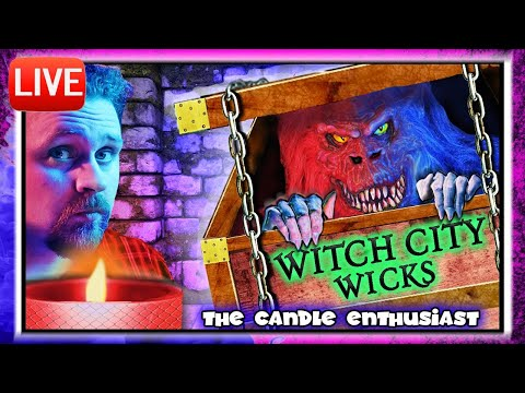 LIVE - Witch City Wicks - HALLOWEEN 2019 - Unboxing ALL NEW Candles - Sneak Peeks/Spoiler Alerts ???