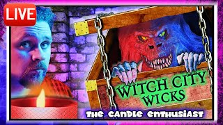 LIVE - Witch City Wicks - HALLOWEEN 2019 - Unboxing ALL NEW Candles - Sneak Peeks/Spoiler Alerts 🚨