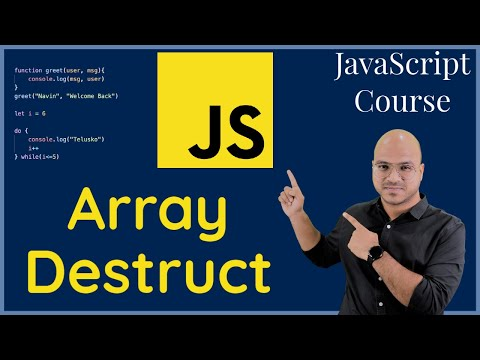 Array Destructuring in