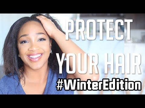 WINTER APPROVED: Everyday Routine to Protect Your Relaxed Hair in The Winter Time | Part 3